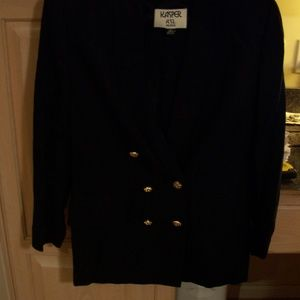 KASPER BLACK BLAZER 10P BEAUTIFUL PIECE